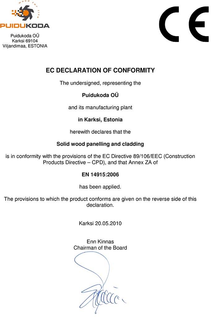 Microsoft Word - EC_Declaration_of_Conformity.doc