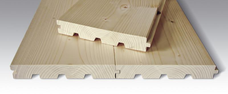 Podlahová palubka, severský smrk - 40x245
