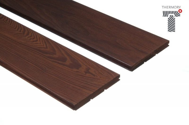 VÝPRODEJ - Podlahová palubka, thermo-jasan, olejovaný - 15x130