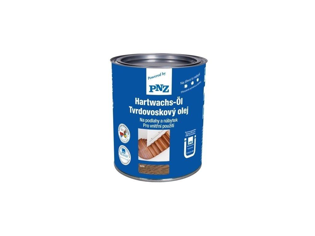 Tvrdovoskový olej PNZ, bílý - 2,5L, polomat