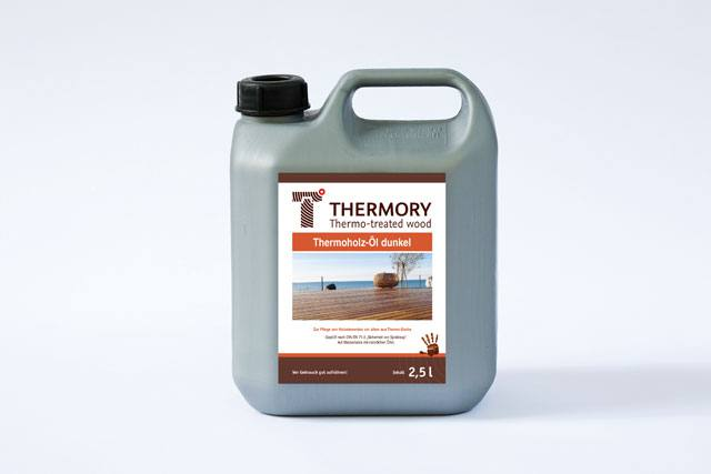 Olej s pigmentem na Thermo-wood - 2,5L, Thermory