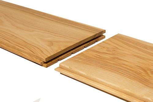Podlahová palubka, jasan, Rustik - 15x146