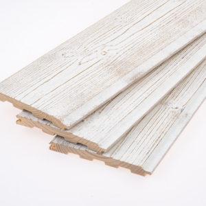 "Palubka ""Kontrast"", brown-white, 12x120"