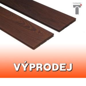VÝPRODEJ - Podlahová palubka, thermo-jasan, lakovaný - 15x130